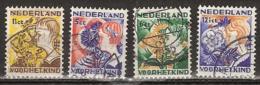 1932 Kind NVPH 248-251  Cancelled/gestempeld - Periode 1891-1948 (Wilhelmina)