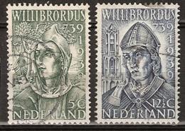 1939 Willibrordus NVPH 323-324  Cancelled/gestempeld - Periode 1891-1948 (Wilhelmina)