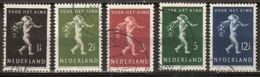 1939 Kind NVPH 327-331  Cancelled/gestempeld - Periode 1891-1948 (Wilhelmina)