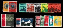 1959 Jaargang Nederland NVPH 720-735 Complete. Postfris/MNH** - Pays-Bas