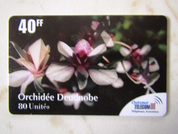 FRANCE  OUTRE   MER  ORCHIDEE   TOP   MINT - France