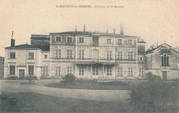 ST MAURICE DE REMENS - CHATEAU DE ST MAURICE - Autres Communes