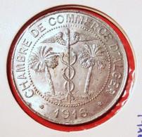 ALGERIE. 10 CENTIMES 1916 ALGER. TRES BEL ETAT. ALUMINIUM. FRENCH COLONIES. ALGERIA. - Colonies