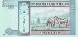 MONGOLIA P. 62b 10 T 2002 UNC (2 Billets) - Mongolia