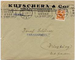 AUSTRIA - WIEN 1927  -  WIENER MESSE  12.1.1927 - Storia Postale
