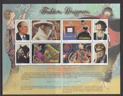 Tanzania MNH`sheet Fashion Designers - Tanzania (1964-...)