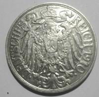 Germany 25 Pfennig 1910 G AUNC - 25 Pfennig