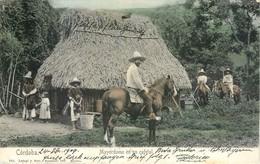 CPA Mexique Cordoba Mayordomo En Un Cafetal - Mexico - Cheval - Cavalier - Nuevo Laredo Tamaulipas Jinete 1909 - Mexique