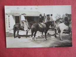 RPPC  Group On Horse Back    Swastika Wigwam Swastika    Ref 3145 - Indonesia