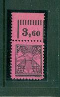 Sowjetisch Besetzte Zone (SBZ), Abschiedsserie, Nr. 16 III Postfrisch **, Geprüft BPP, Oberrand - Sowjetische Zone (SBZ)