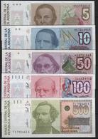 B4 - ARGENTINE Lot De 5 Billets Diff. - Argentine