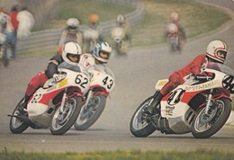 Carte 1983 Circuit 24 Heures Du Mans Moto , Gros Plan - Sport Moto