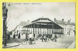 * Turnhout (Antwerpen - Anvers) * (SBP, Nr 14) Botermarkt, Marché Au Beurre, Animée, Belle Animation, Vélo, TOP, Unique - Turnhout