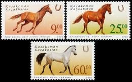 Kazakhstan 2002.  Horses. Fauna. Animals. MNH - Caballos