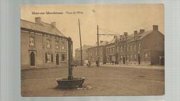 """-*1 X MONT-SUR-MARCHIENNE       * -"""""""" Place Du Wez -   """"""""- - Charleroi"""