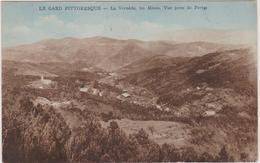 30 La Vernede  Les Mines Vue  Prise De Portes - France