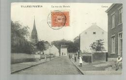 """-*1 X VILLERS-PERWIN        * -"""""""" La Rue Du Marais -   """"""""- - Les Bons Villers"""
