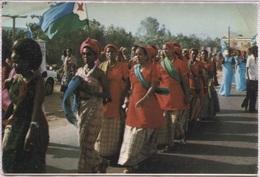 CPM - DJIBOUTI - COSTUME De FETE - Edition A.Bourlon - Djibouti