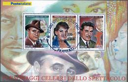 PIA- ITALIA - 2007 : Per La Morte Di Maria Callas E Di Beniamino Gigli E Per La Nascita Di Amedeo Nazzari  - (SAS Bf 61) - 6. 1946-.. Repubblica
