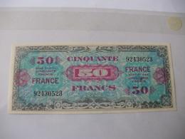 50 F FRANCE TYPE 1945 - Trésor