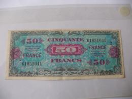 50 F FRANCE TYPE 1945 SERIE 2 - Trésor
