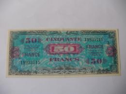 50 F FRANCE TYPE 1945 SERIE 3 - Trésor