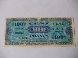 100 F FRANCE TYPE 1945 - Trésor