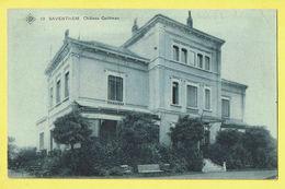 * Zaventem - Saventhem (Brabant - Bruxelles) * (SBP, Nr 10) Chateau Quittman, Kasteel, Castle, Schloss, TOP, Unique - Zaventem