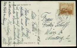Ref 1266 - 1931 Real Photo Postcard - Austria Railway TPO Villach-Salzburg - Mountain Hut - 1918-1945 1st Republic