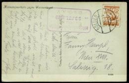 Ref 1266 - 1929 Real Photo Postcard - Mountaineering Hut Cachet - Solden Austria 10g Rate - 1918-1945 1st Republic