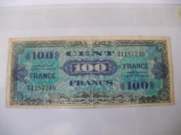 100 F FRANCE TYPE 1945 SERIE 6 - Trésor