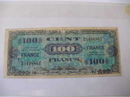 100 F FRANCE TYPE 1945 SERIE 7 - Trésor