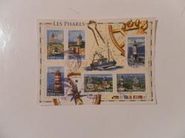 FRANCE  YT BF114 LES PHARES - Blocs & Feuillets