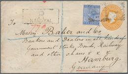 Birma / Burma / Myanmar: 1895/1960, Covers/ppc/used Stationery Cards (29) Inc. Many Better Items - Myanmar (Burma 1948-...)