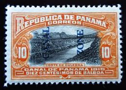 1915 Panama Canal Zone Sn 45, Mi 32 .Culebra Cut .  Neuf Trace Charnière - Panama