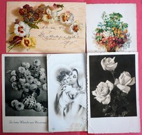 LOT OF 5 DIFFERENT ARTISTS  OLD POSTCARDS - 5 - 99 Karten