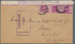 Ceylon / Sri Lanka: 1890's-1970's Ca.: Assortment Of 47 Covers And Postcards Including Few 1890's Co - Sri Lanka (Ceylon) (1948-...)
