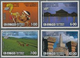 Ceylon / Sri Lanka: 1985, SRI LANKA: 10th Anniversary Of World Tourism Organisation WTO Complete Set - Sri Lanka (Ceylon) (1948-...)