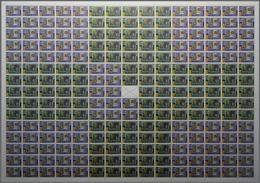 Ceylon / Sri Lanka: 2006. EUROPA STAMPS, 50th Anniversary. Lot Of 10 Rare, Complete PRINTING SHEETS - Sri Lanka (Ceylon) (1948-...)