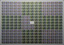 Ceylon / Sri Lanka: 2006. EUROPA STAMPS, 50th Anniversary. Lot Of 30 Rare, Complete PRINTING SHEETS - Sri Lanka (Ceylon) (1948-...)