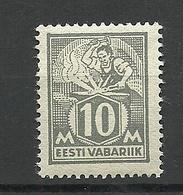 ESTLAND Estonia 1928 Michel 73 MNH - Estland