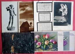 LOT OF 7 DIFFERENT ARTISTS  OLD POSTCARDS - 5 - 99 Karten