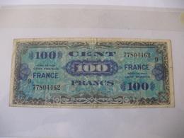 100 F FRANCE TYPE 1945 SERIE 9 - Trésor