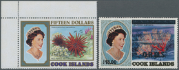 Cook-Inseln: 1972/1992, Duplicates Incl. Some Issues From AITUTAKI, NIUE And PENRHYN In Box Incl. Ma - Cookinseln