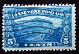 1929 Panama Canal Zone Yt 79 . Gaillard Cut . Oblitéré - Panama