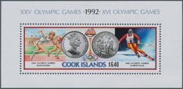 Cook-Inseln: 1974/1991, Accumulation In Box With Many Complete Sets And Miniature Sheets Many In Lar - Cookinseln