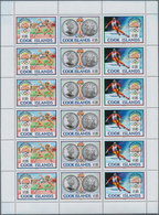 Cook-Inseln: 1990, Olympic Games 1992, 1.000 Se-tenant Strips Of Three (=1.000 Complete Sets) Within - Cookinseln