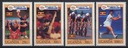 //// Ouganda Yvert 904 / 907** - Ete 1992: Barcelone