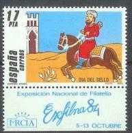 ESPAÑA 1984 - Edifil #2774 (con Bandeleta) - MNH ** - 1931-Oggi: 2. Rep. - ... Juan Carlos I