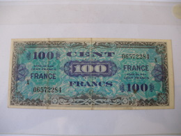 100 F FRANCE TYPE 1945 SERIE GRAND X - Trésor
